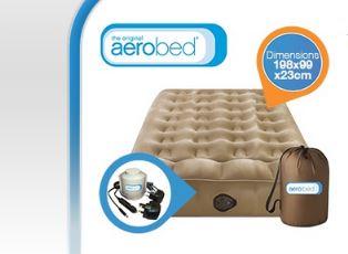 AEROBED Aktive - Selbstaufblasbare Luftmatratze mit Pumpe!