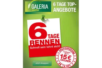Vom 23.04 bis 04.05 bis zu €15 sparen bei Galeria Kaufhof!