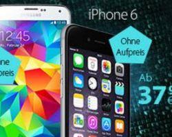 eteleon: iPhone 6 und Galaxy S5 ohne Zuzahlung!
