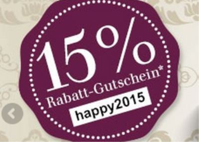 parfuemerie.de: 15% Neujahr-Rabatt