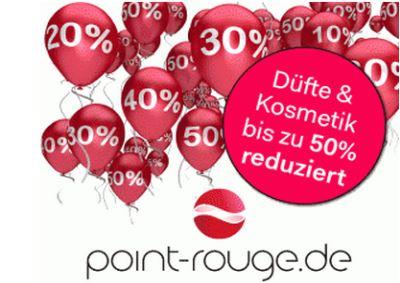 point-rouge.de Online Parfümerie und Beautyportal: neue Gratisaktionen
