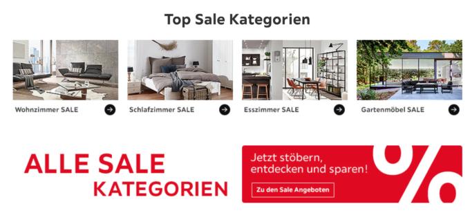 Red Shopping Week - 40% Rabatt bei XXXLutz Möbel Haus