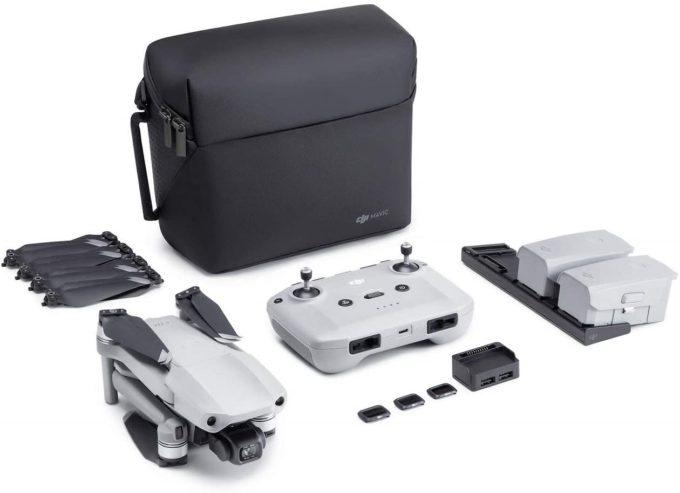 DJI Mavic Air 2 Fly More Combo Drohne mit 4K Video-Kamera