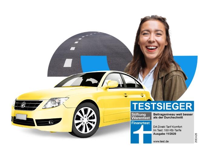 DA Direkt Kfz-Versicherung Beste Autoversicherung Deutschlands