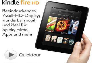 Kindle Fire HD 8.9 -Tablet直减70欧