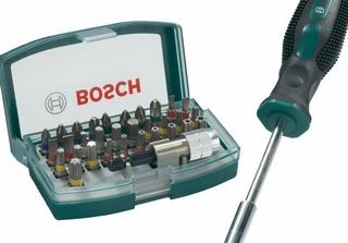 bosch 32头螺丝刀仅售9,99
