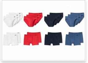 Schiesser 男士内裤 2个装boxer或者3个装slips 只要19,95欧!