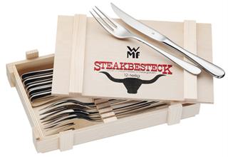 德国名牌餐具WMF套装12套刀叉只要34欧!