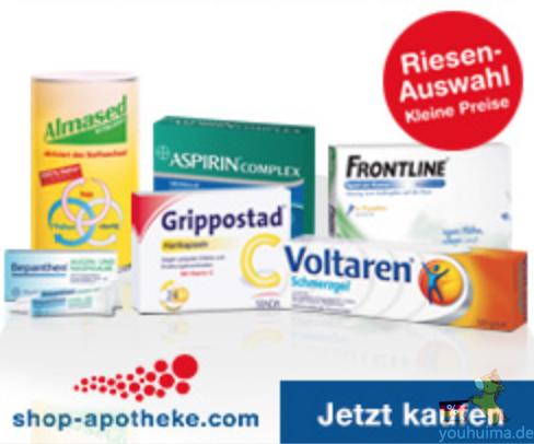 德国网上药店Shop-Apotheke黑五全场9折优惠码