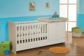 德国原装ROBA环保无油漆实木婴儿床组合立减100欧
