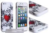 Iphone5/5s桃心手机壳加上运费只要5.89欧