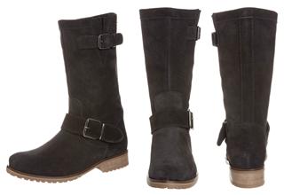 Sly10黑色麂皮短靴3折!不到104欧!