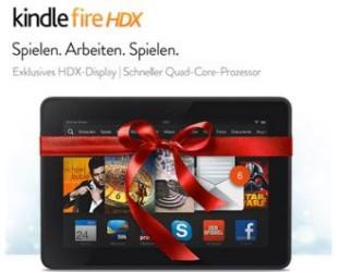 最适合的圣诞礼物,最新一代kindle hdx 7寸平板,直降30欧,仅售199欧!