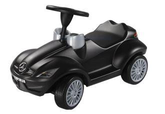 每个德国小朋友都有一辆的bobby car波比车,黑色奔驰SLK版!