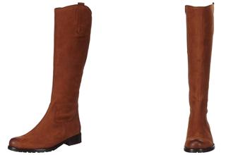 德国知名鞋类品牌Gabor优质真皮平底及膝靴子4.5折,只要79.95欧!