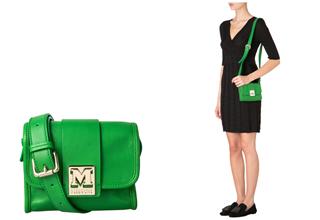 意大利时尚品牌M Missoni绿色小包4折,只要149.95欧!