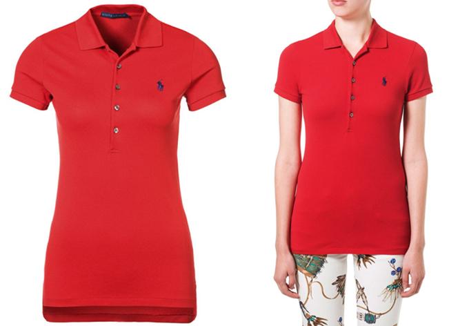 美国时尚高端服装品牌Lauren Ralph全棉POLO衫5折,只要54.95欧