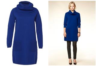 德国服饰品牌Hallhuber宝蓝色羊毛裙子56折,只要49.95欧