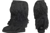 UGG Tall Sheepskin Cuff Boot长绒蒙古毛羊皮女高筒雪地靴37折!只要194.95欧