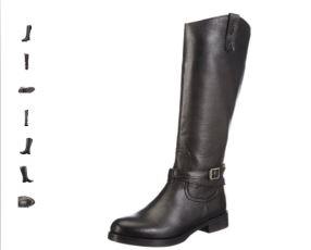 优雅单品Gant Carly女士真皮长靴46折啦!