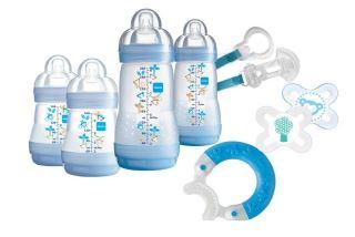 MAM防胀气奶瓶新生儿礼盒装,亚马逊满星评价,送礼自用两相宜!
