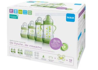 奥地利MAM新生儿奶瓶礼盒套装只要29欧元