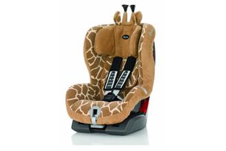 Kidsroom百代仕Roemer King Plus Highline长颈鹿款安全座椅现在正在促销