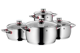 WMF红圈系列不锈钢锅一套仅149欧元