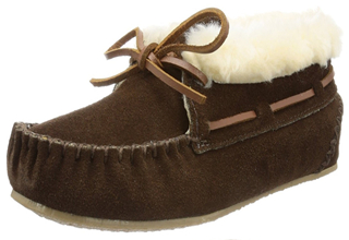 迷你唐卡MINNETONKA系带翻边毛绒棉鞋踝靴只要34.85-59.75欧
