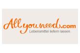 只有今天!德国网上食品超市allyouneed.com满50送10欧
