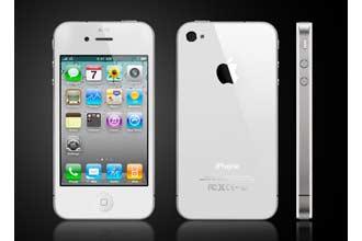 iphone4 8GB 白色无锁版手机只要189.99欧