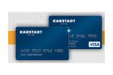 karstadt会员卡免费定制+享受9折优惠+免年费的visa卡