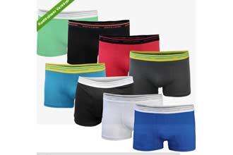 真品法国皮尔卡丹男式内裤6条只要24.99欧元还包邮