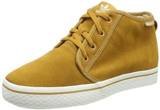 Adidas Originals三叶草经典款HONEY DESERT纯皮绒里Sneaker4.5折,可邮全球
