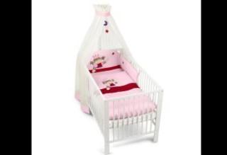 4折的Sterntaler公主床组4件套,给每个做公主梦的小萝莉!