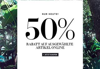 #H&M# 德国官网今日5折促销!