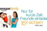amazon family免费参加,推荐朋友可得15欧优惠卷!