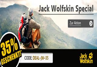 Jack Wolfskin所有产品6.5折!