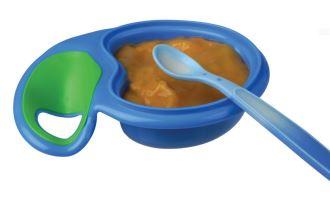Nuby努比安全长柄易抓握防滑感温软勺,宝宝的第一把勺子