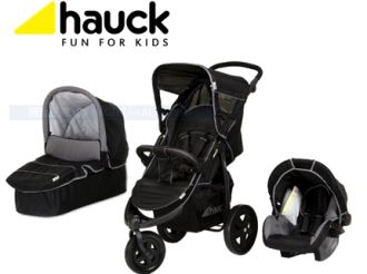 Hauck童车,宝宝框,汽车座椅三件套,仅售179,9欧!