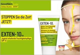GoodSkin Labs EXTEN-10多效抗晒修护霜SPF15 50ml只要24.99欧