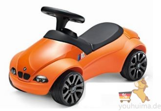 橘色bmw原厂bobby car波比车仅售70欧!!