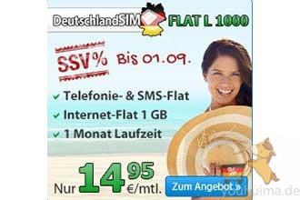 特价德国全网打电话上网包月手机合同仅14欧