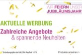 135周岁的kaufhof,买满100欧直减13,5欧!