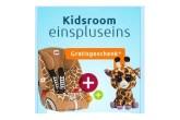 Kidsroom超级百变王安全座椅送玩具还有优惠码减5欧元
