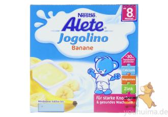 雀巢Alete香蕉味酸奶6支装七五折
