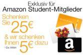 买25欧元亚马逊礼券白送5欧元亚马逊礼券!