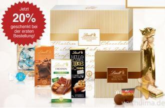 不能错过的瑞士瑞士莲Lindt巧克力全场8折优惠,多款巧克力礼盒特价中