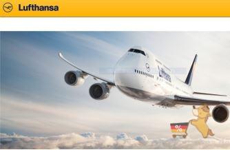 汉莎航空20欧元优惠卷来了!!