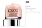 Clinique倩碧快速保湿脸霜便携装只需19,95欧!